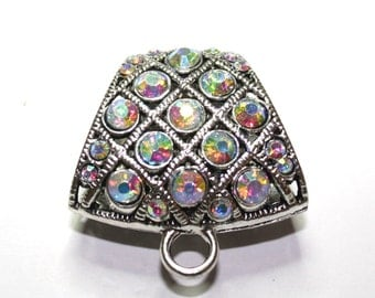 Scarf Rhinestone Clasp For Hanging Pendants Accessories Jewelry - 1ct - #189