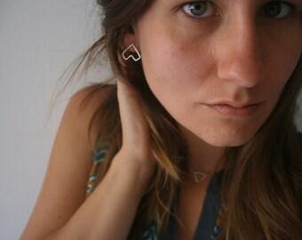 Sterling SIlver TeePee Post Earrings