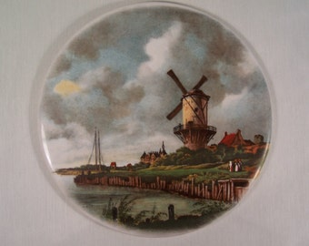 Vintage Tile Windmill Hyalyn    S360