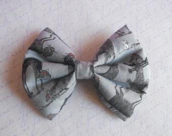 Gothic Lolita black cats hair bow