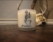 Soy Wax Candle-Blackwood Scent 10oz