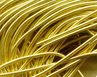 French Wire / Bullion approx 75 inch (6.25 ft) or 1.9M