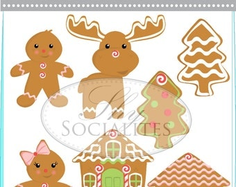Gingerbread Man House Clip Art Images & Pictures - Becuo