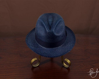 Panama Hat Classic Blue - Don Juan Hats are one of a kind panama hats hand-woven from straw.