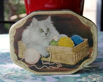 Vintage 1960's Biscuit Tin