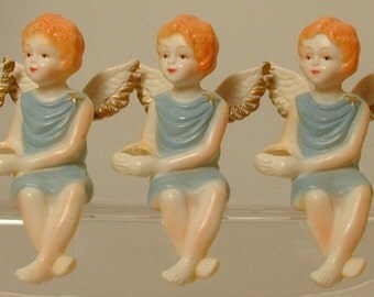 A Chorus Line of Angels for your Mantel