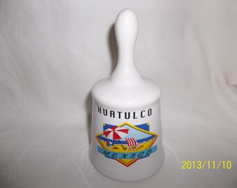 Huatulco Mexico Ceramic Bell
