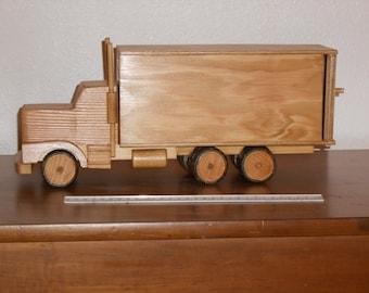Wooden Van Truck