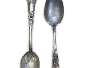Oneida Community RELIANCE PLATE A1 Spoons silver plate