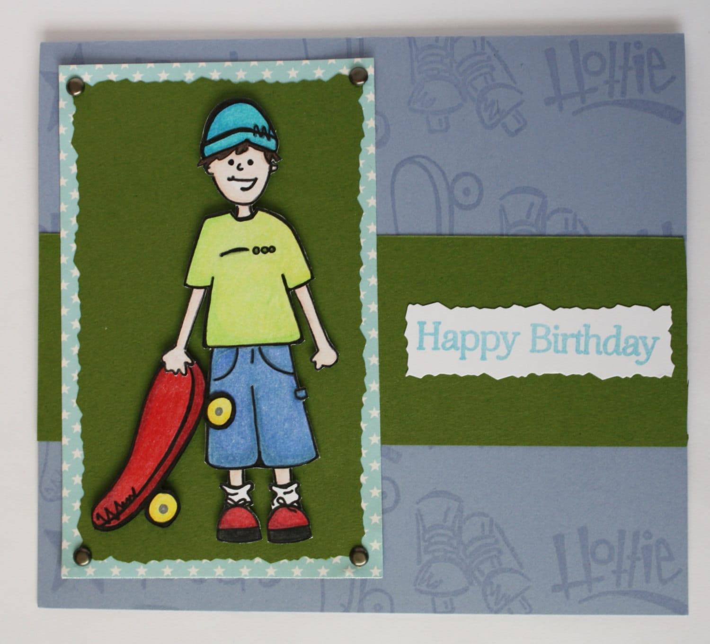 Birthday Cards For Teenage Guys ~ Teen boy birthday card tween boys