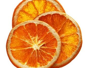 30 Dried Orange Slices, Decorative Orange Slices, Potpourri