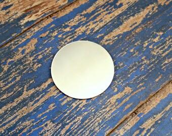 Aluminum 1 3/4 inch Round Stamping Blanks - 18 Gauge Aluminum Blanks