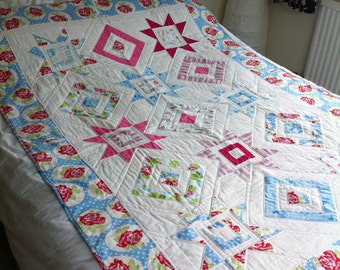 Handmade Single Patchwork Quilt
