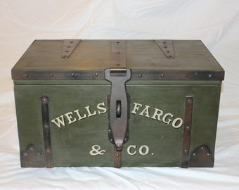 Wells Fargo Strong Box Replica