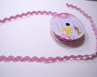 Disney Princess Sparkle Pink Rick Rack