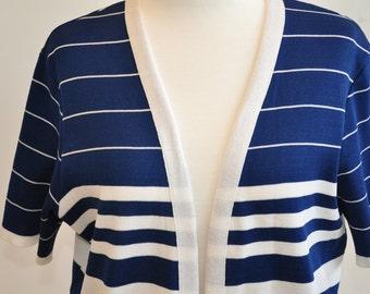 nautical short sleeved jacket