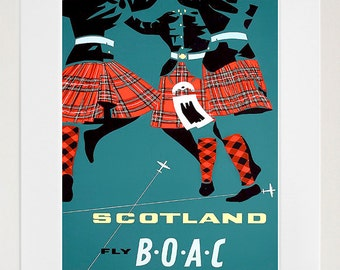 Scotland Home Decor Etsy