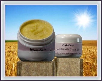 Anti Wrinkle Cream 40+ with Wheat Germ Oil    1.5oz, 2oz