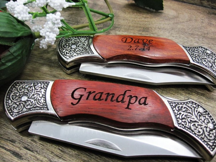 Wedding Party Gifts Knives : Groomsmen Gift Knife Wedding Party Favor for by KnifeEngraving