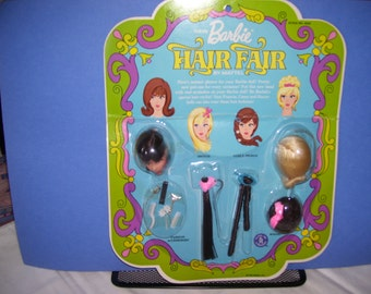 Vintage 1968 Barbie Hair Fair stock no. 4043 - never removed from package.