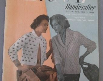 1957 Bernat Handicrafter Booklet