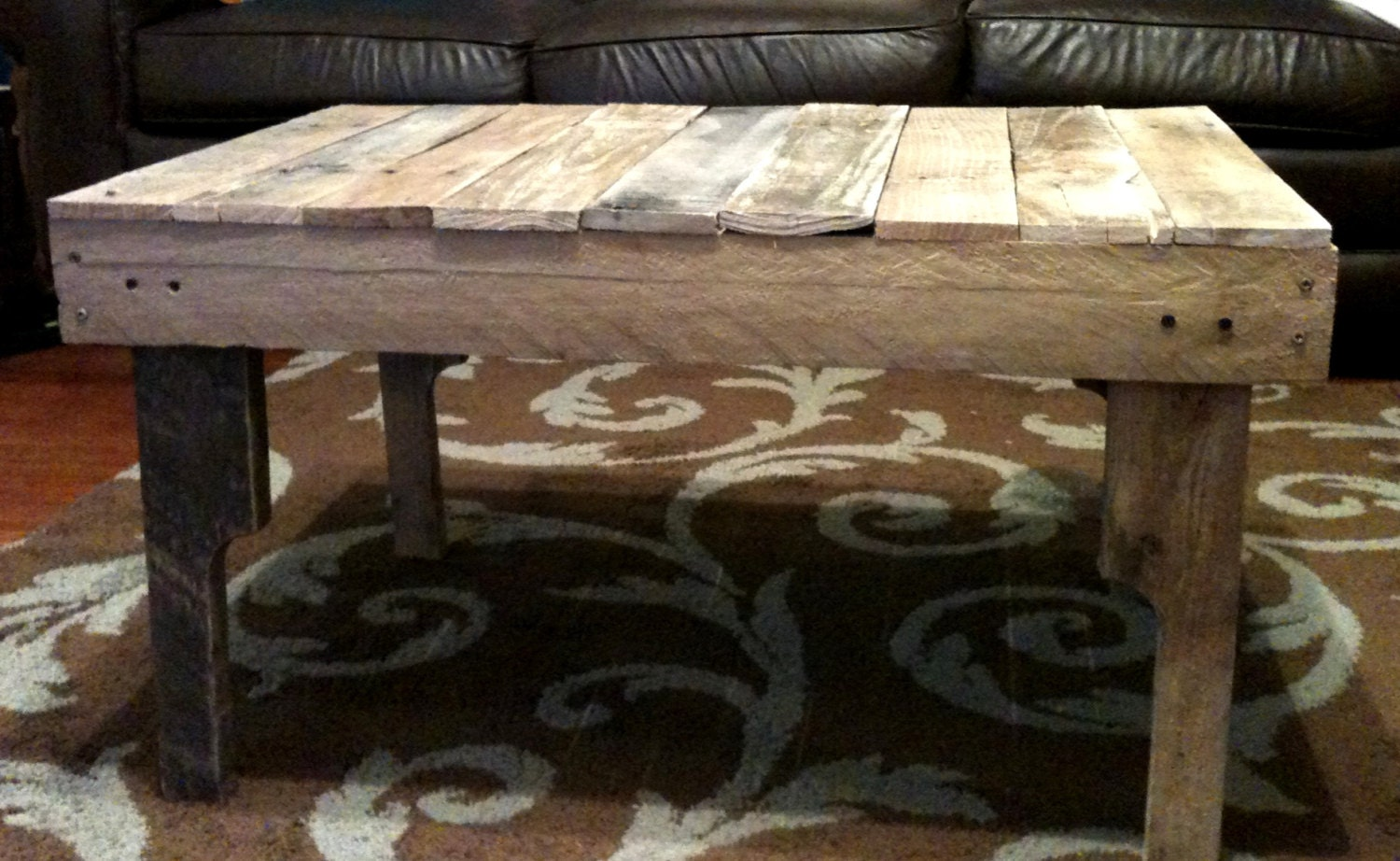 Repurposed Pallet Wood Coffee Table By Macmaddies On Etsy