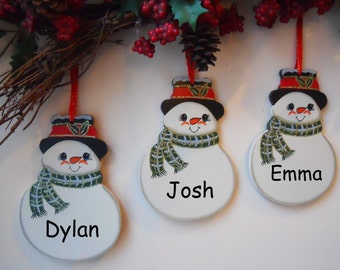 Personalised Christmas Tree Decorations Christmas Tree