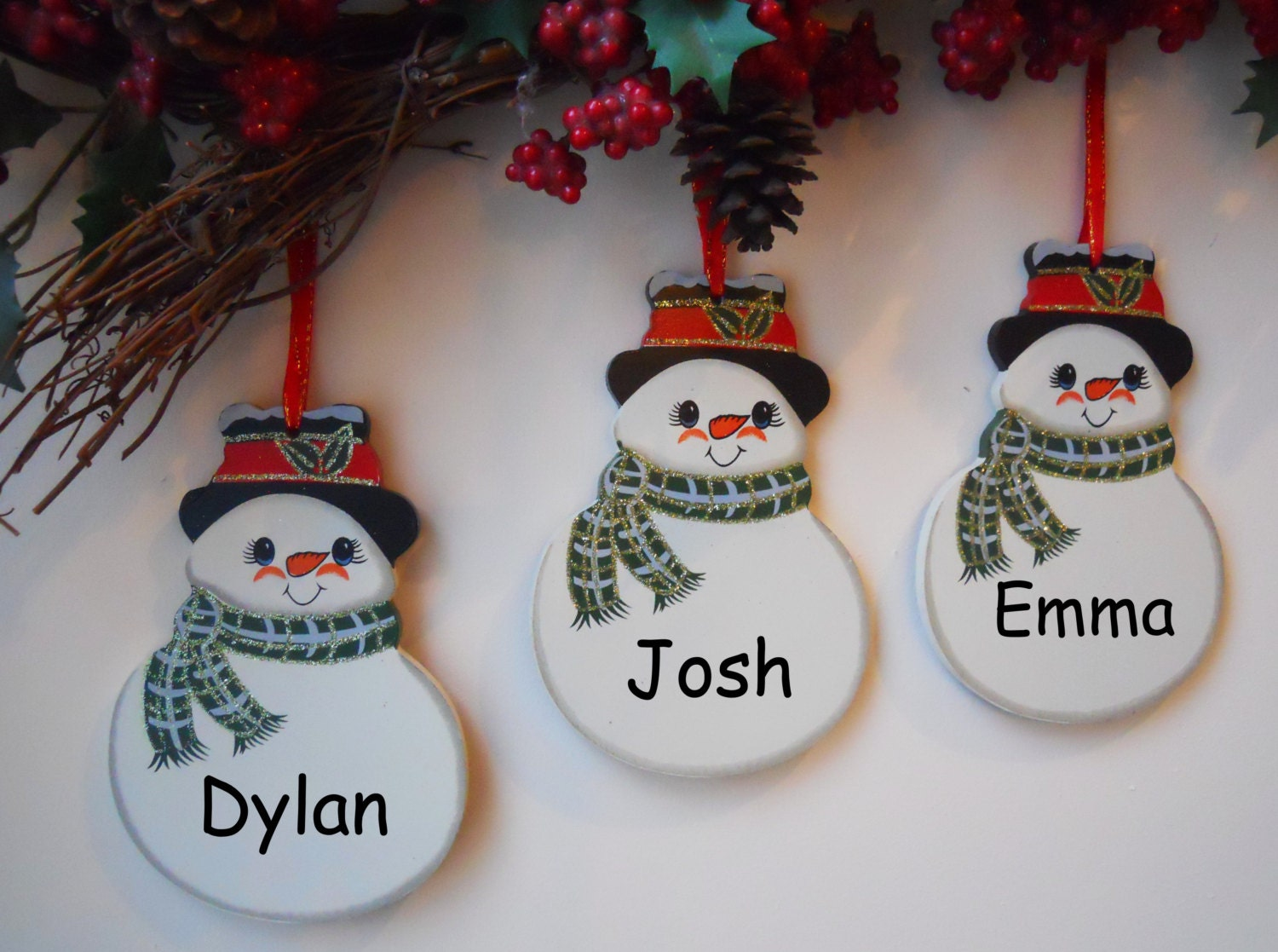 Christmas decorations pictures and names giveaway party