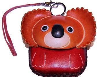 Koala Purse - Twilight the Koala - Cute Handmade Koala Leather Coin Purse - Koala Gift - Koala Change Purse - Item #1001