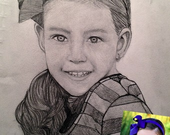 Turn your photo into a realistic pencil drawing!