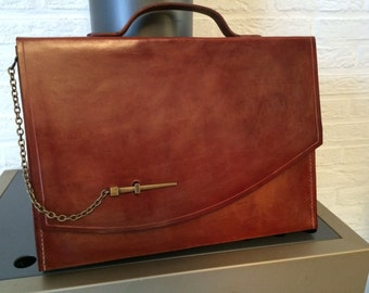 Made to order leather Briefcase.