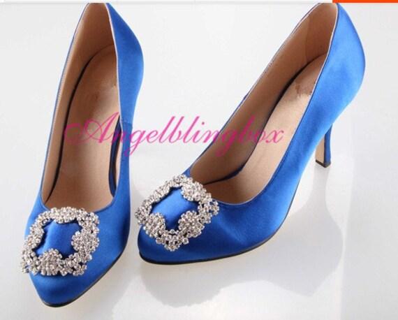 Royal Blue Wedding Heels: Royal Blue Wedding ShoesRoyal Blue Bridal Shoes By