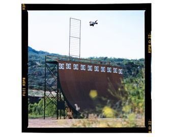 Danny Way World Record 23.5 Backside Air, Aguanga Ca. 2003