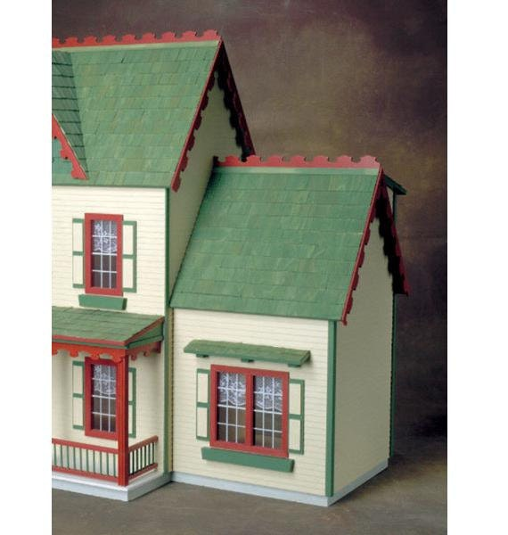 Colonial Kitchen And Great Room Addition: Colonial Jr. Addition Unfinished Dollhouse By EndeavourToys