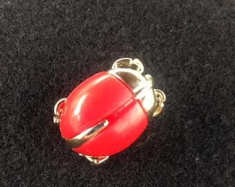 Vintage Sarah Coventry Ladybug Pin/brooch