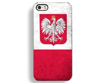 Flag of Poland iPhone 5/5S Case - iPhone 4/4S Case - iPhone 5C Cases - Polandia Flag