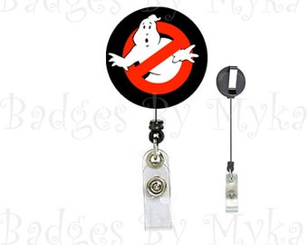 Retractable ID Badge Holder - Ghostbusters