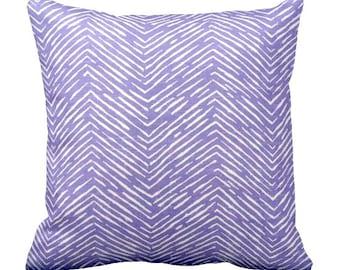 One 24x24 Pillow Cover Decorative Throw Pillow Purple Pillow Lavender Pillow Geometric Pillow Herringbone Pillow Decorative Pillow