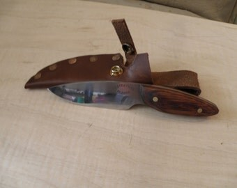 Hand Forged hunting/utility knife.