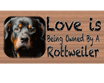 Rottweiler Wood Sign -Rottweiler wood sign - Rottweiler wood sign primitive, Rottweiler handmade wood sign ,GS418