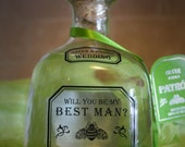 Personalized Patron Tequila Labels For Wedding Party or Birthday