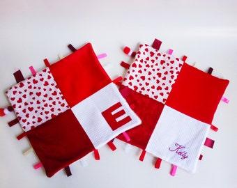 Personalized Sensory Taggie Blanket / Comfort Taggie Blanket