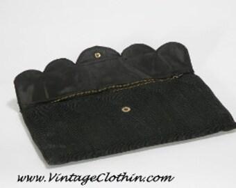 1940s Corde' Clutch Purse/Handbag by M&C, 1940s Purse, Corde Purse, Clutch Purse, Vintage Purse, 1940s Handbag, 1940s Clutch, Purse