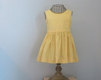 Sunshine Dress, Vintage McCalls Pattern, Size 2