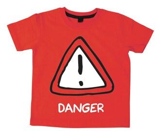 Danger kids t-shirt