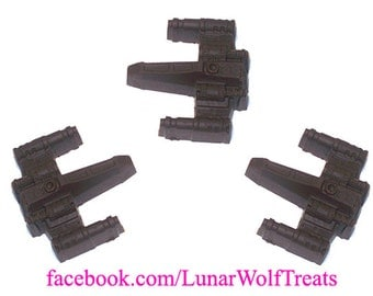 3 Solid Chocolate X-Wings