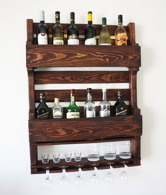 Wine rack wine rack from wood wine rack for wall - Como hacer botelleros de madera ...