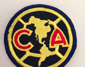 Club america embroidery patch iron or sew on