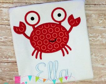 Crab 5 Applique Design