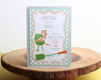 Baby Shower Invitation- look 23